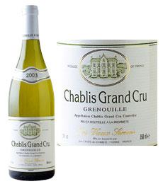 Chablis Grand Cru Grenouille - La Chablisienne 2006